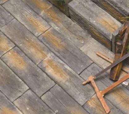 Betonove podvaly imitacia dreva